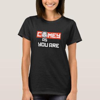 Camiseta Comey como você é - -