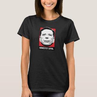 Camiseta Comey é honesta leal - -
