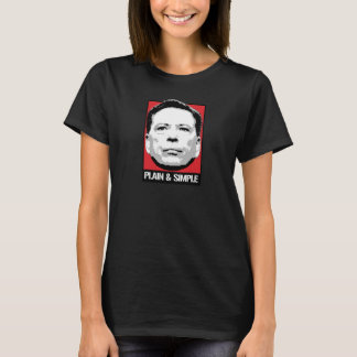 Camiseta Comey é liso e simples - -