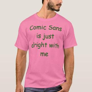 Camiseta Cómico sem é apenas tudo bem comigo!