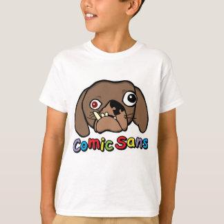 Camiseta Cómico sem o cão