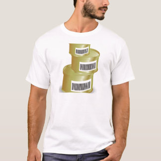 Camiseta comida 105Canned _rasterized