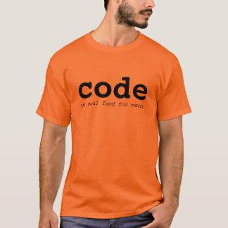 Camiseta comida 2 da alma