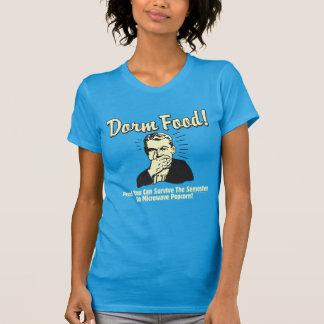 Camiseta Comida do dormitório: Sobreviva à pipoca de