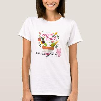 Camiseta Comida do Vegan