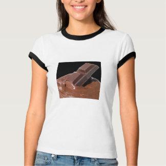 Camiseta Comida doce da sobremesa da barra de chocolate do