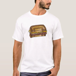 Camiseta Comida judaica da carne em lata do supermercado