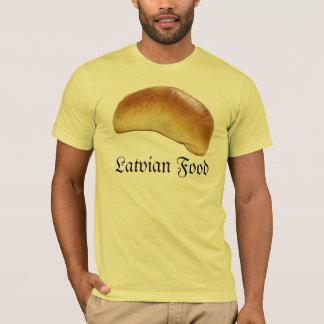 Camiseta Comida letão
