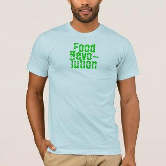 Camiseta Comida, Revo-, lution