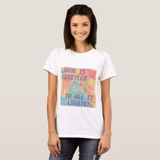 Camiseta commie macio