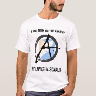 Camiseta Como a anarquia? Tentativa Somália