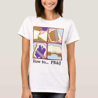 Camiseta Como a… PB&J (brancos)