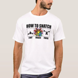 """Camiseta """"Como arrebatar"""" o T da malhação"""