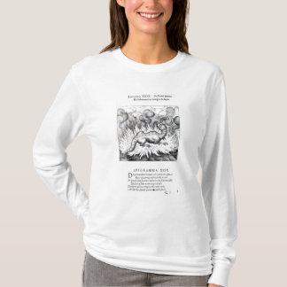 Camiseta Como as vidas da salamandra no fogo