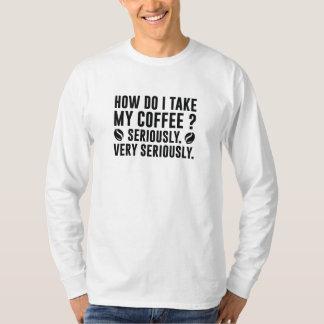 Camiseta Como I toma meu café