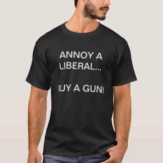 Camiseta Como irritar um liberal