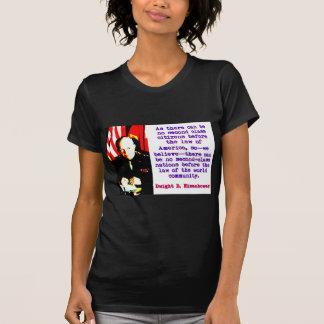 Camiseta Como não pode haver nenhuma segunda classe -