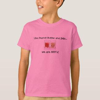 Camiseta Como o PB & o J eram BFF (os melhores amigos para