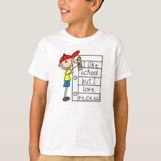 Camiseta Como o rebaixo do amor da escola