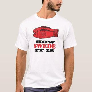Camiseta Como o sueco ele é