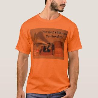 Camiseta Como sobre um pouco de mais fechado acima?