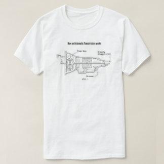 Camiseta Como uma transmissão automática trabalha