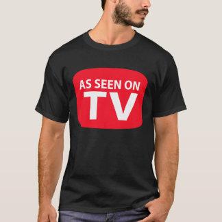 Camiseta Como visto na tevê