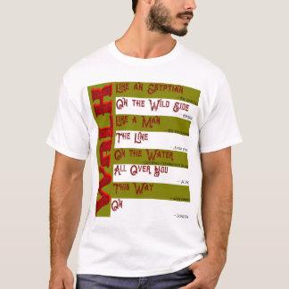 Camiseta Como você andará hoje? O t-shirt dos homens