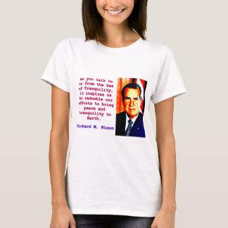 Camiseta Como você nos fala - Richard Nixon
