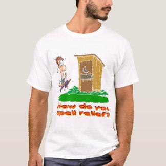 Camiseta Como você soletra o alivio?