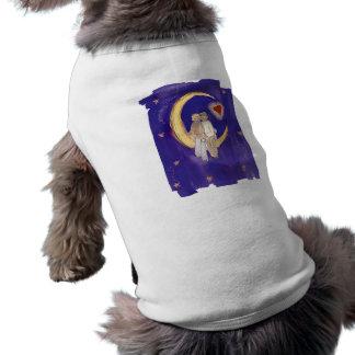 Camiseta Compartilhe de nossos noivos da alegria na lua