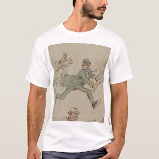 """Camiseta """"Compartimento do perfurador da notícia"""