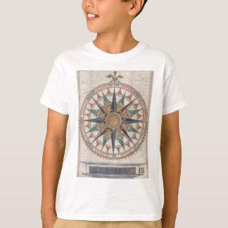 Camiseta Compasso náutico histórico (1543)