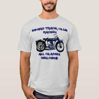 Camiseta Competência da motocicleta da trilha do conselho