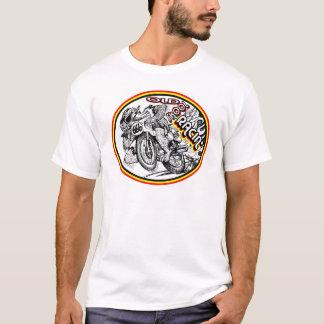 Camiseta Competência da motocicleta da velha escola