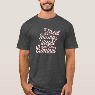 Camiseta Competência da rua