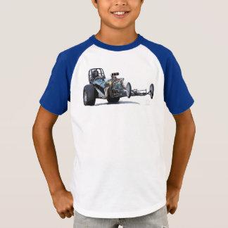 Camiseta Competência do arrasto & vintage Dragsters