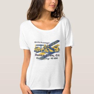 Camiseta Competência do protótipo dos esportes auto
