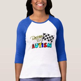 Camiseta Competência para o autismo - T das senhoras