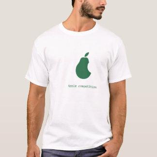 Camiseta competição-pera da maçã