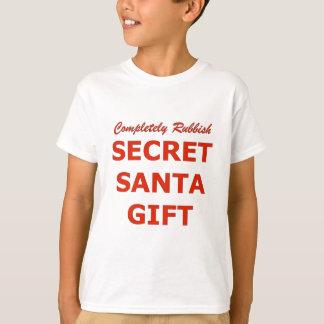 Camiseta Completamente presente secreto do papai noel dos