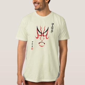 Camiseta Composição do herói de Kabuki, Kumadori
