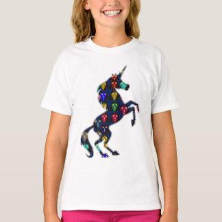 Camiseta Compra pintada da forma do conto de fadas do