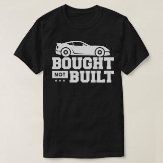 Camiseta Comprado não construído