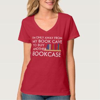 Camiseta Comprando uma outra biblioteca