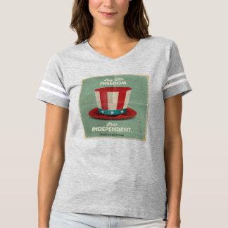 Camiseta Comprar com liberdade. T-shirt do independente da
