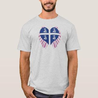 Camiseta Compre a bandeira de Martinica