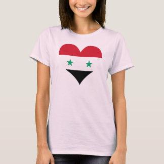 Camiseta Compre a bandeira de Syria