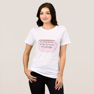 Camiseta . Compre-me café. T