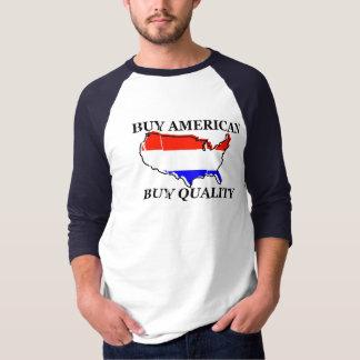 Camiseta Compre o americano, compre a qualidade